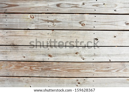 wooden slats useful as a background texture - stock photo