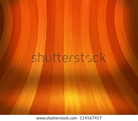 Wooden Stage Background - stock photo
