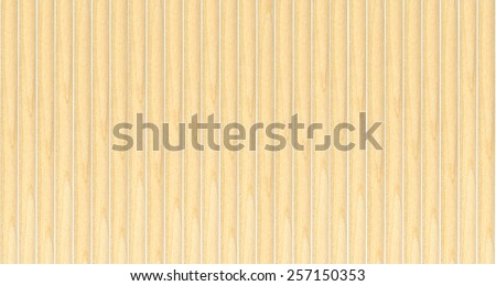 wooden stick  isolated on white background - stock photo