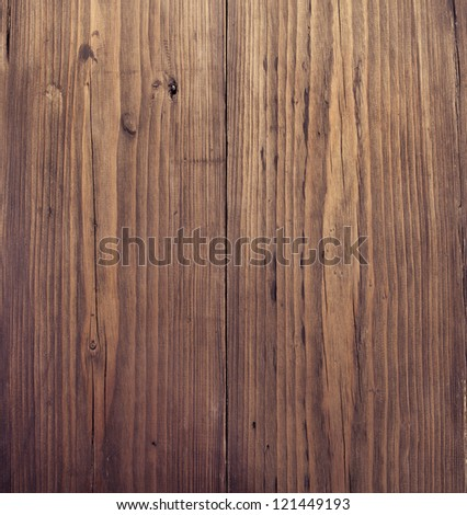 Wooden texture. Brown grunge wood background - stock photo