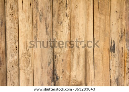 wooden wall texture use for background - stock photo