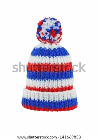 Wool Hat - stock photo