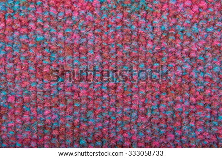 Woolen knitted mohair colored background - stock photo