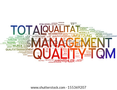 significance of tqm Sandy carson hessen, marketing communication manager, pilgrim quality solutions for more than half a century, the international standard for organizations.