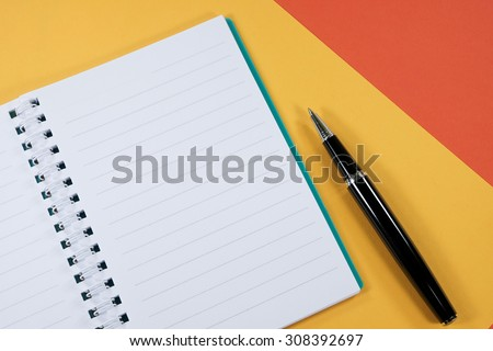 Work and travel schedule - stock photo