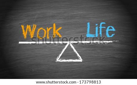 Work-Life Balance - stock photo