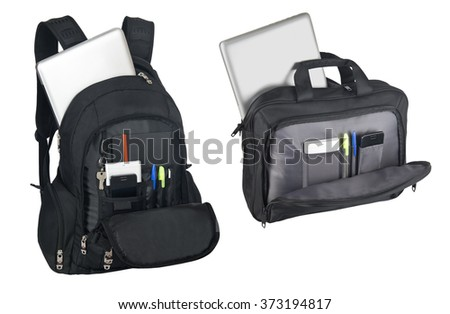 Work stuffs - business man concepts - objects - stock photo