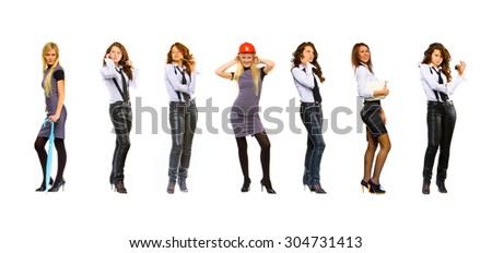 Workforce Concept United Colleagues  - stock photo