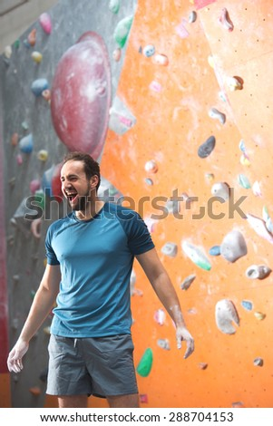 Working out in the gym - stock photo