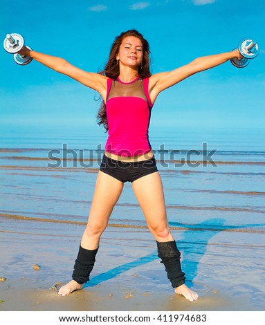 Workout Sport Fitness  - stock photo
