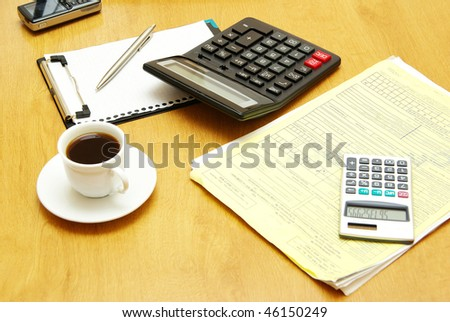 workplace - stock photo