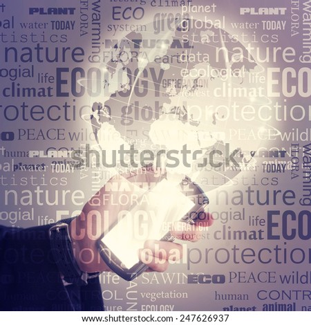 World Business concept - stock photo
