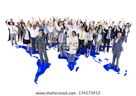 World Business People - stock photo