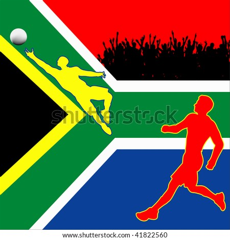 World Cup In South Africa 2010 - stock photo