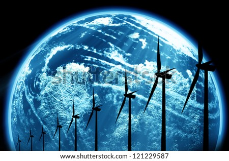 World Energy - stock photo