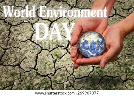 World Environment day - stock photo
