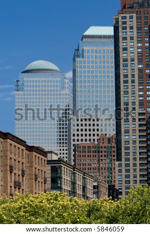 World Financial Center - stock photo