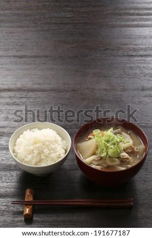 World Japanese, Zen, one juice at all - stock photo