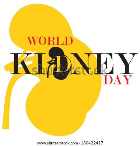 World Kidney Day - stock photo