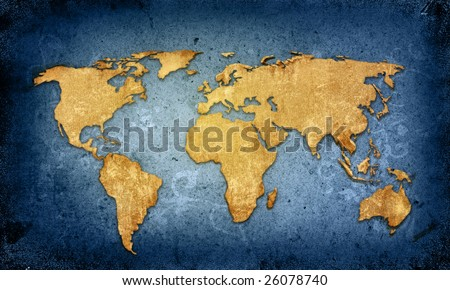 world map textures and backgrounds - stock photo