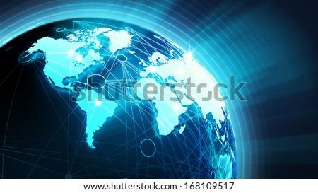 World News Concept - stock photo