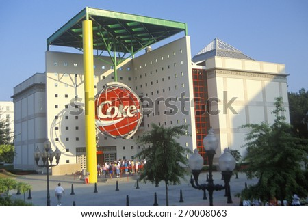 World of Coca Cola, Atlanta, Georgia - stock photo