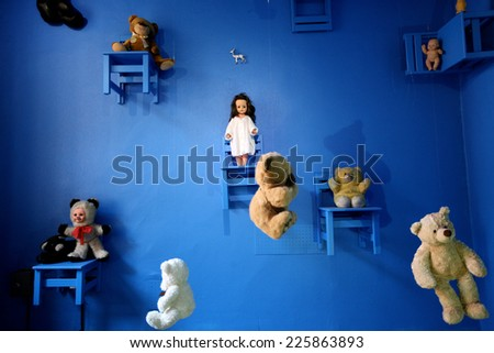 World of toys - stock photo
