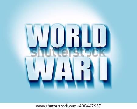 World war 1 background - stock photo