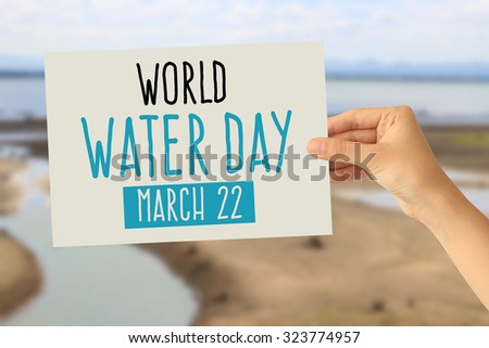 World Water Day - stock photo