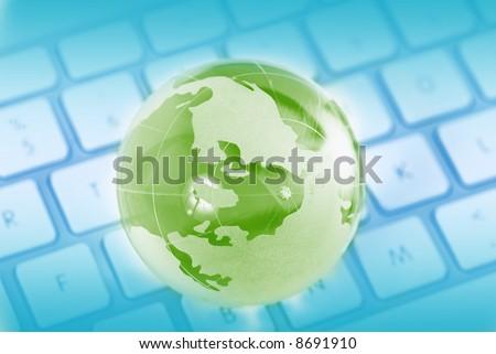 World wide web - stock photo