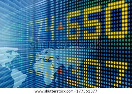 Worldwide Business - stock photo