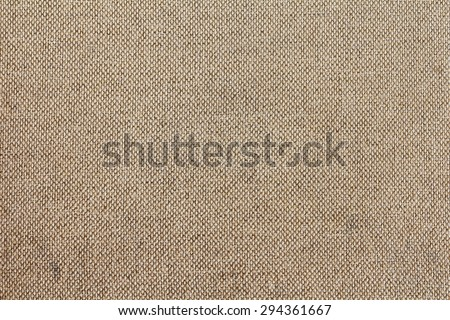 Woven canvas patterns from floor chair background. Organic fabric texture patterns. Brown fabrics sack. - stock photo