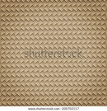 woven rattan patterns  - stock photo