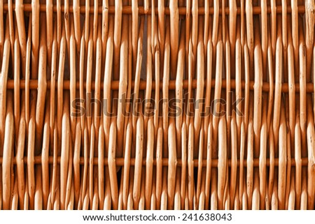 Woven rattan with natural patterns background/Woven rattan with natural patterns background - stock photo