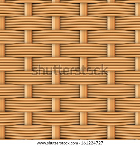 Woven rattan with natural patterns. The 3d render - stock photo