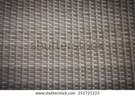 woven wicker rail fence seamless background - stock photo