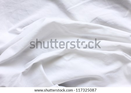 wrinkled cloth - stock photo