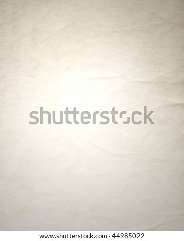 wrinkled paper backdrop - stock photo