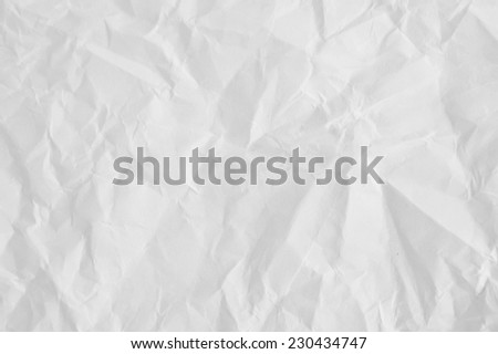 Wrinkled paper texture,texture for design. - stock photo