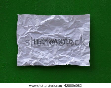 write on paper - stock photo