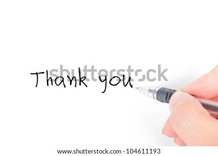 Writing - stock photo