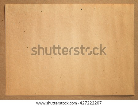 Writing paper - stock photo