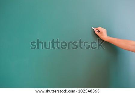 writing something on background - stock photo