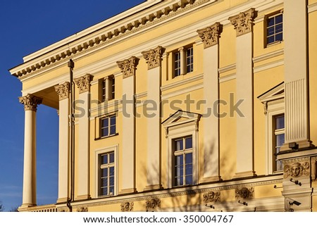 Wroclaw Opera House in Poland - stock photo