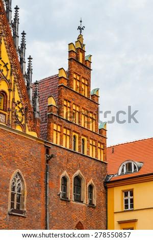 Wroclaw Town Hall, Wroclaw, Poland - stock photo