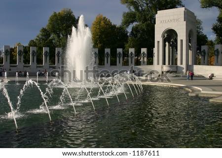 WWII Memorial, Washington - stock photo
