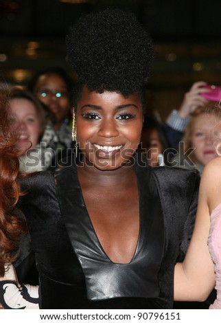 X Factor's Misha B arriving for the UK premiere of The Twilight Saga: Breaking Dawn Part 1 at Westfield Stratford City, London. 17/11/2011 Picture by: Alexandra Glen / Featureflash - stock photo