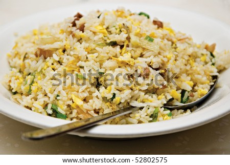 Yang Chow Chinese Fried Rice - stock photo