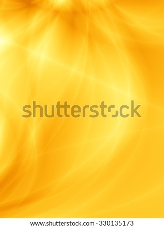 Yellow abstract modern sunny nice background - stock photo