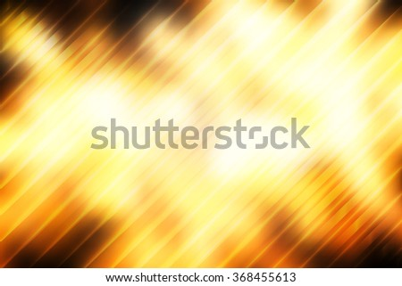 Yellow abstract smooth blur background with diagonal stripes. - stock photo